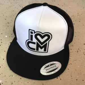 Black and White, Classic, Snapback Hat, Hat