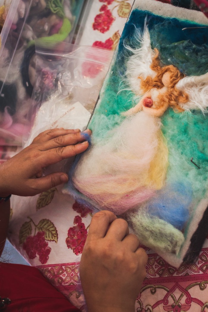 What A Relief: Teng's Work Isn't Just A Sight To Behold, It Soothes Her Soul To Create It