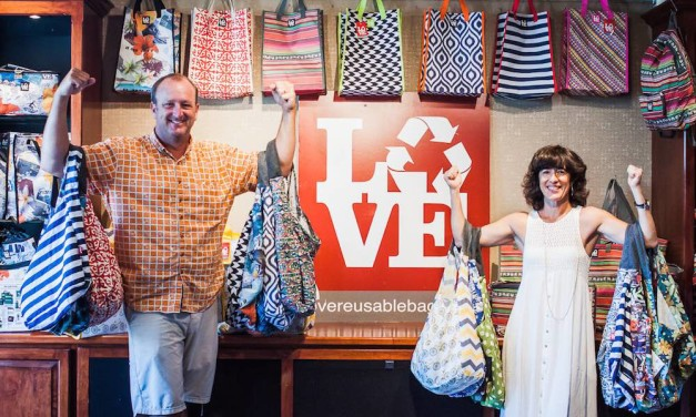 Carried Away: LOVE Reusable Bags