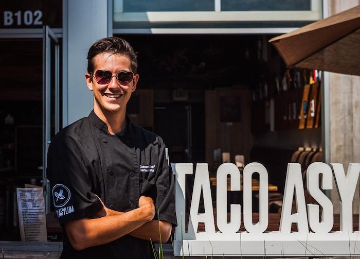 I Heart Costa Mesa, Costa Mesa, Taco Asylum, Chef Carlos Anthony, Costa Mesa Happy Hour, Costa Mesa Tacos, Costa Mesa Restaurants, Carnitas, Fish Tacos, Carne Asada, Beer