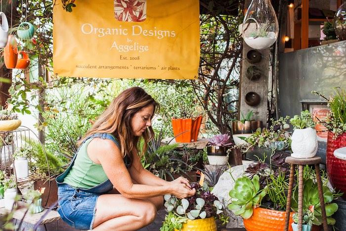 Costa Mesa, I Heart Costa Mesa, Organic Designs by Aggelige, Organic Designs, Plants, Centerpiece, Terrarium, Gifts, Interior Design, Growing, Orange County, California