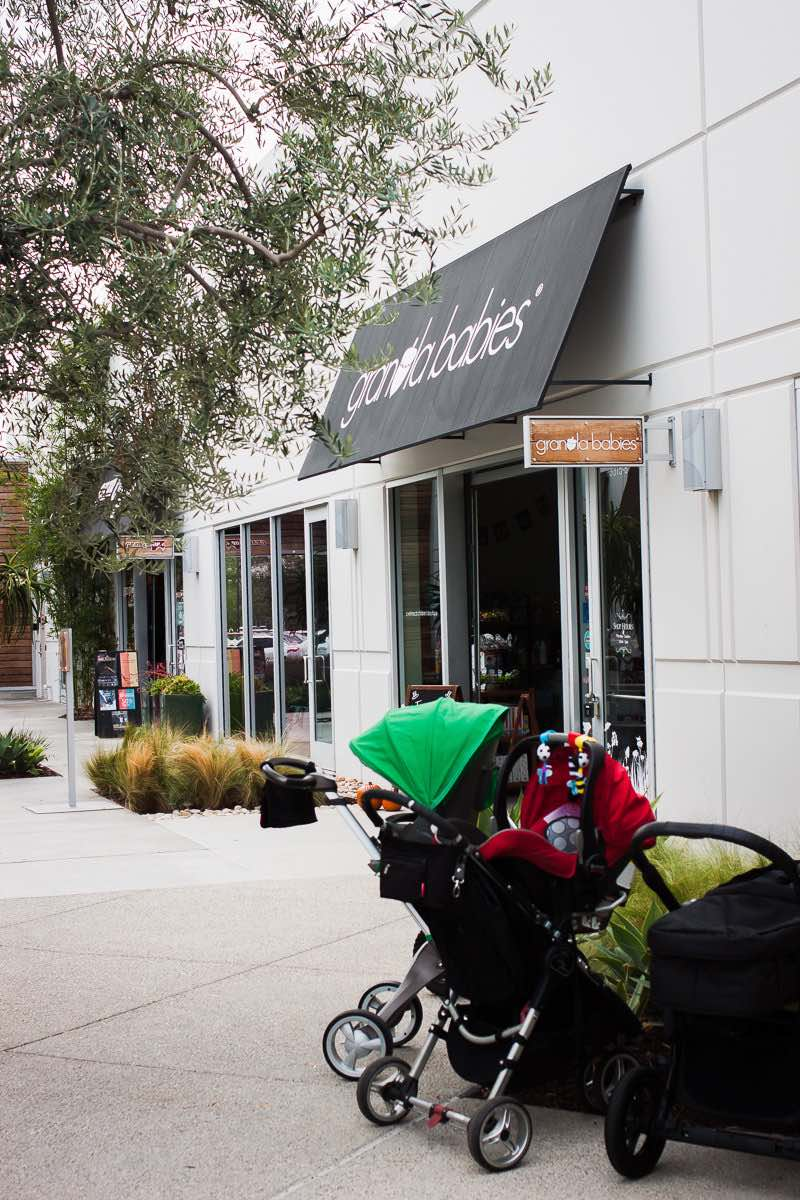 The Awning of Granola Babies at SoCo - South Coast Collection - in Costa Mesa, California