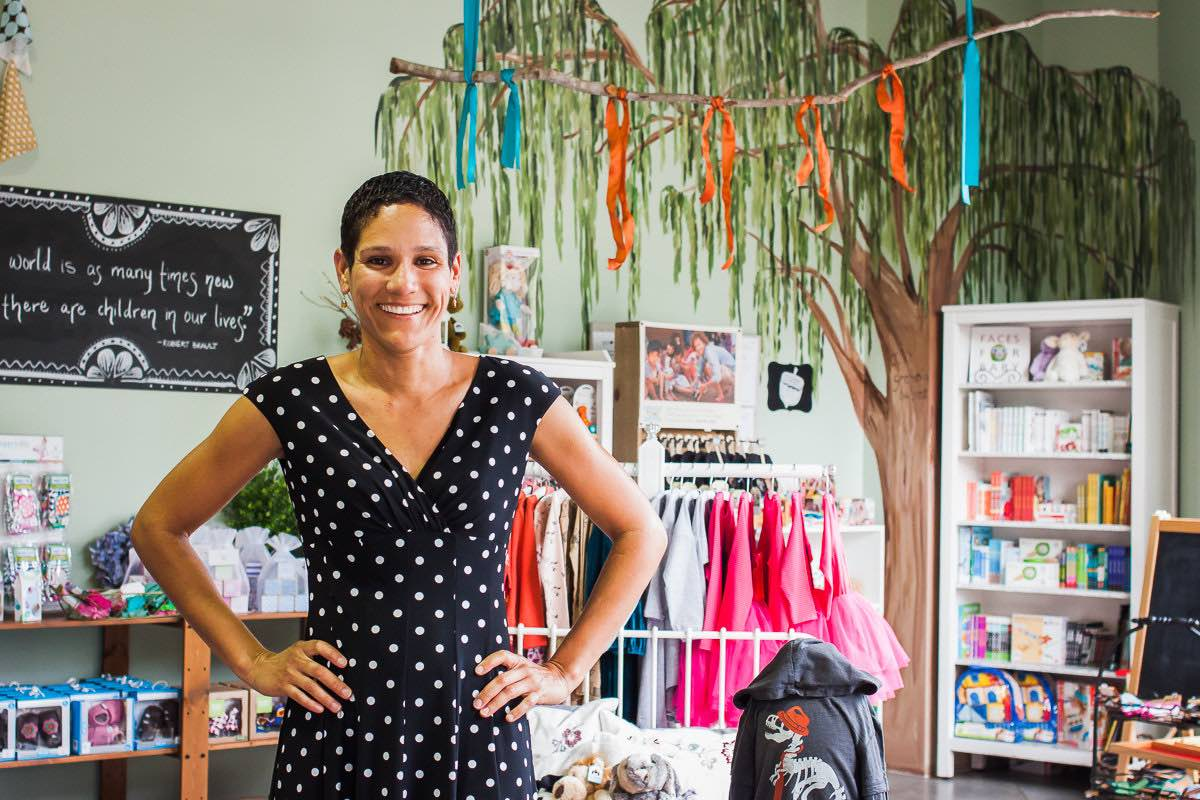 Giselle Baturay, Owner of Granola Babies, in Her Costa Mesa Store at SoCo Near The OC Mart Mix