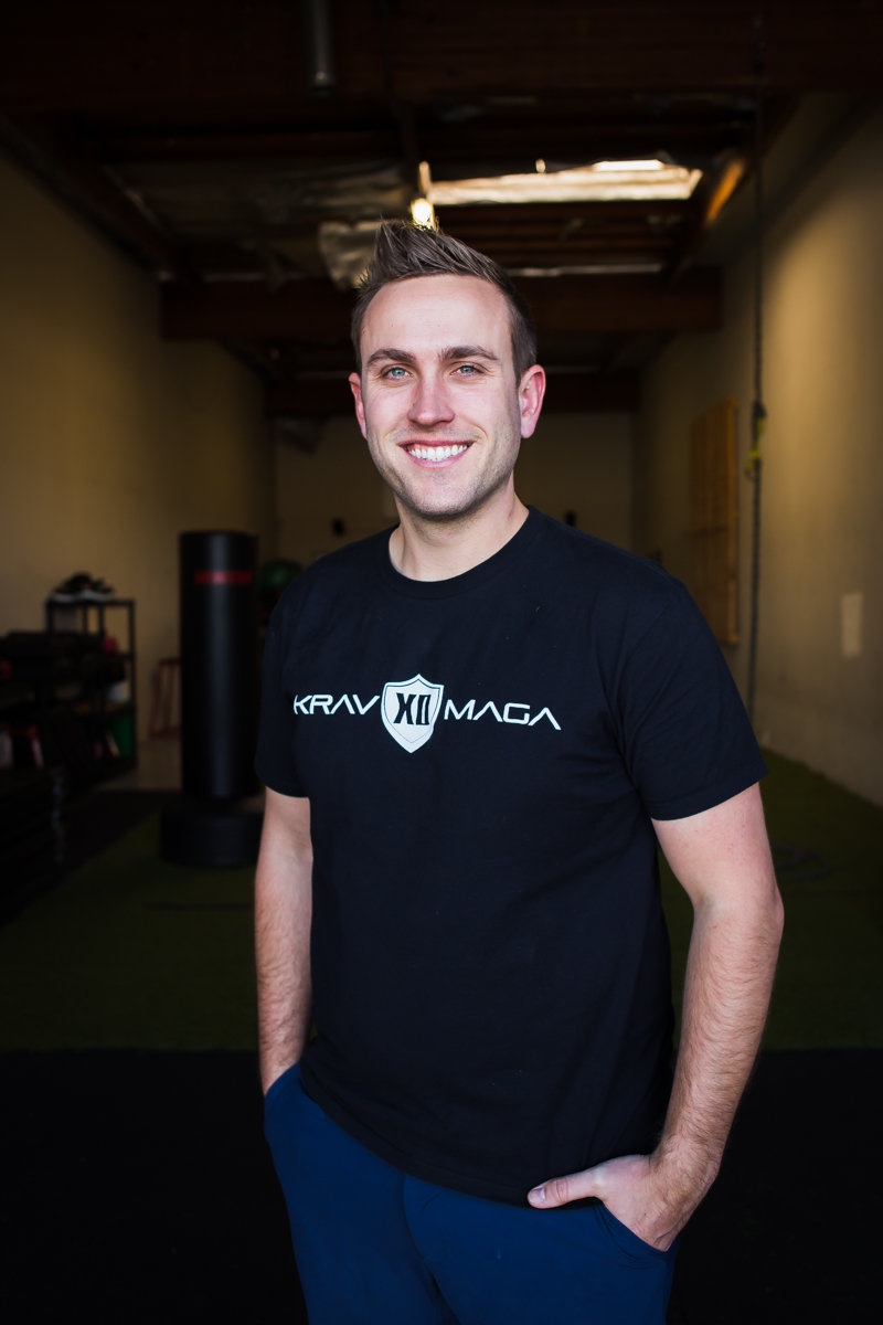 Krav Maga XD founder and owner, Joey Karam, in Westside Costa Mesa. // photo: @byoungforeverphotog