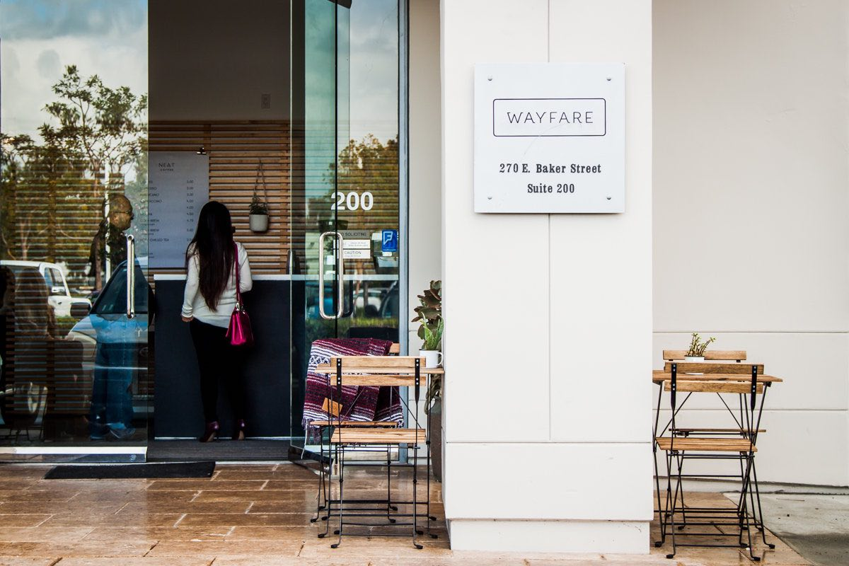 Wayfare HQ Coworking Space at 270 East Baker Street in Costa Mesa, CA