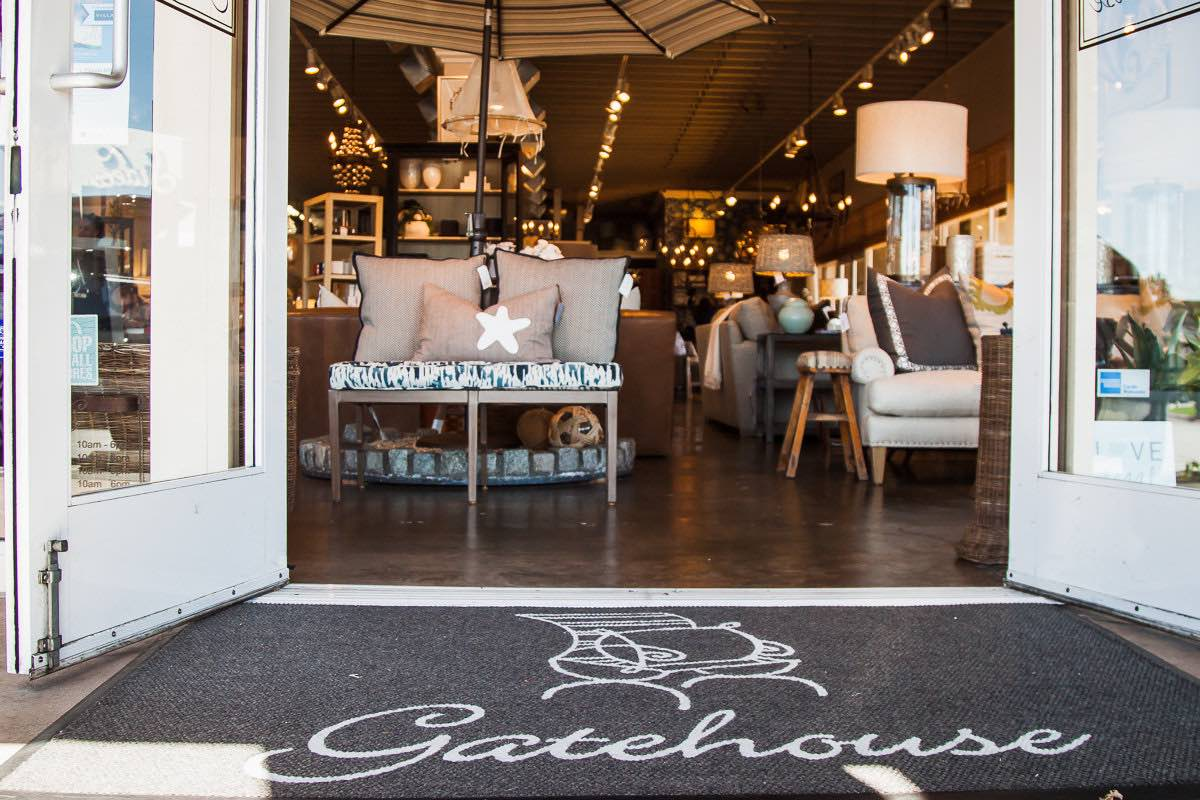 Welcome to Gatehouse Interior Design on 17th Street in Eastside Costa Mesa