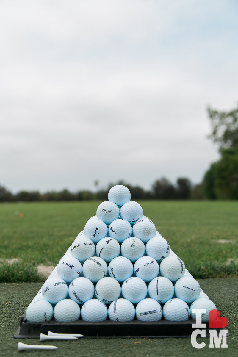 Golf Balls at Mesa Verde Country Club in Costa Mesa