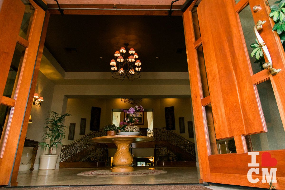 Cross The Threshold: The Foyer At The Mesa Verde Country Club in Costa Mesa