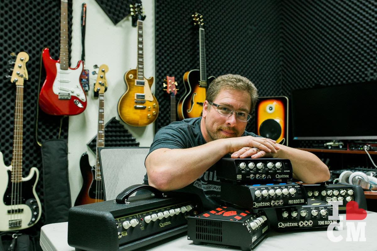 Brand Evangelist: Quilter Labs CEO, Chris Parks, Is A True Believer In The Amplifier Products They Create