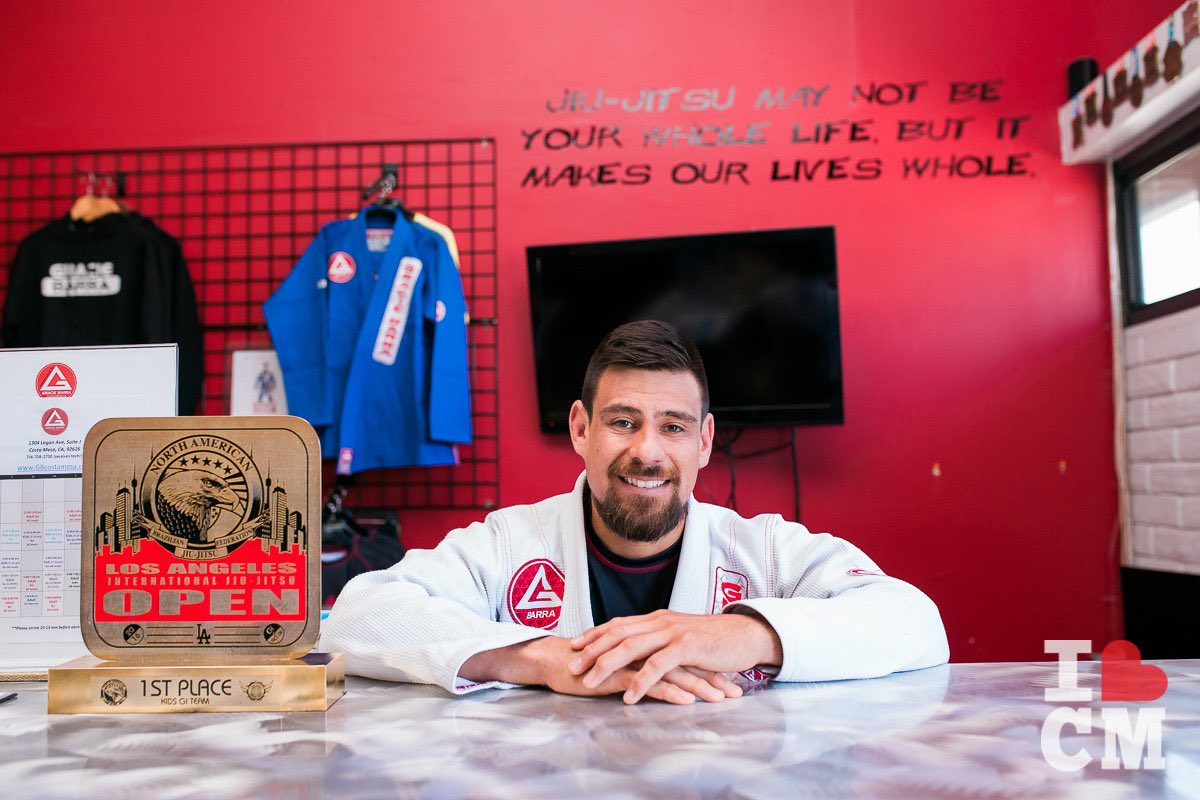 Coach Josh Ramirez Welcomes You To Gracie Barra Costa Mesa in Orange County, California