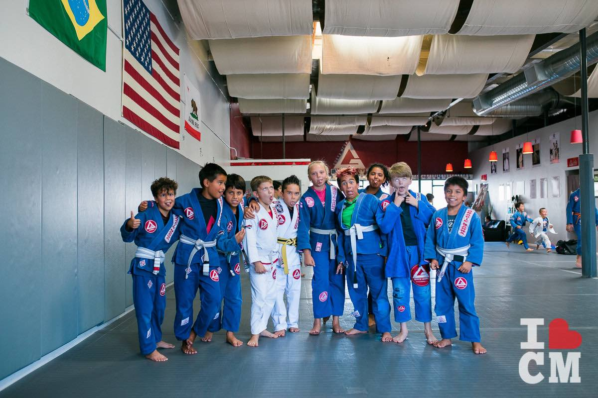 The Kids Ham It Up At Gracie Barra Costa Mesa in Orange County, California