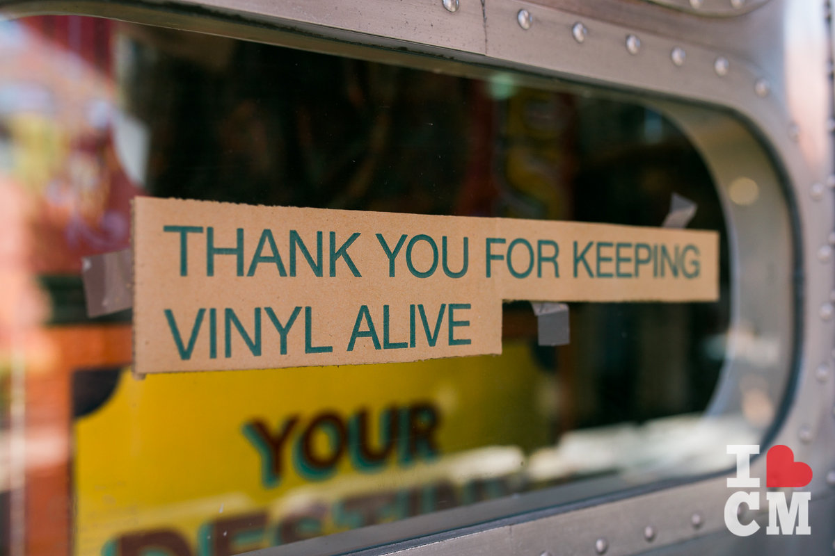 "Creme Tangerine Records: ""Thank You for keeping vinyl alive,"" at The Lab Anti-Mall, Costa Mesa"