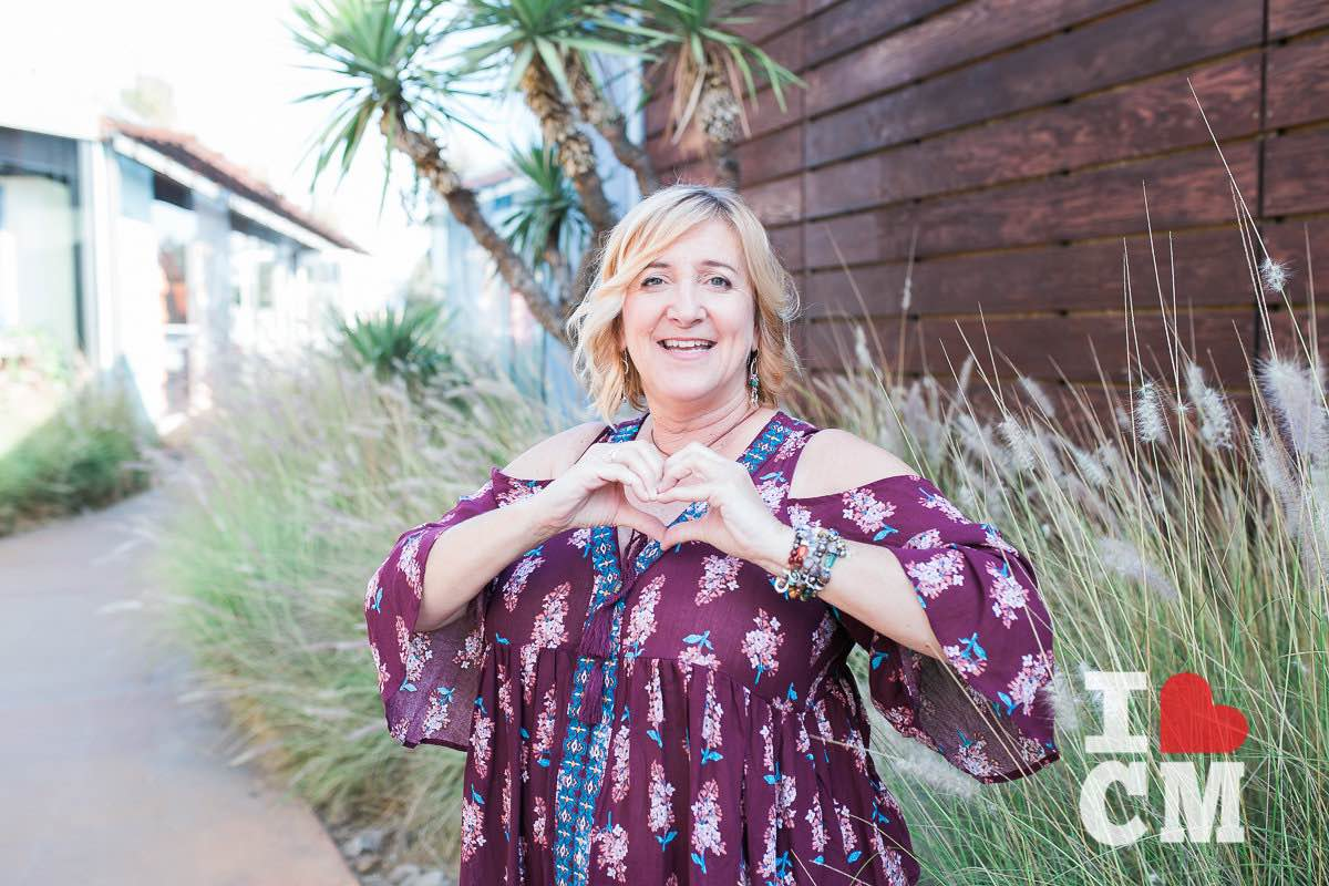 Jewelry Maker, Stacey Peterson, at The Camp in Costa Mesa, California