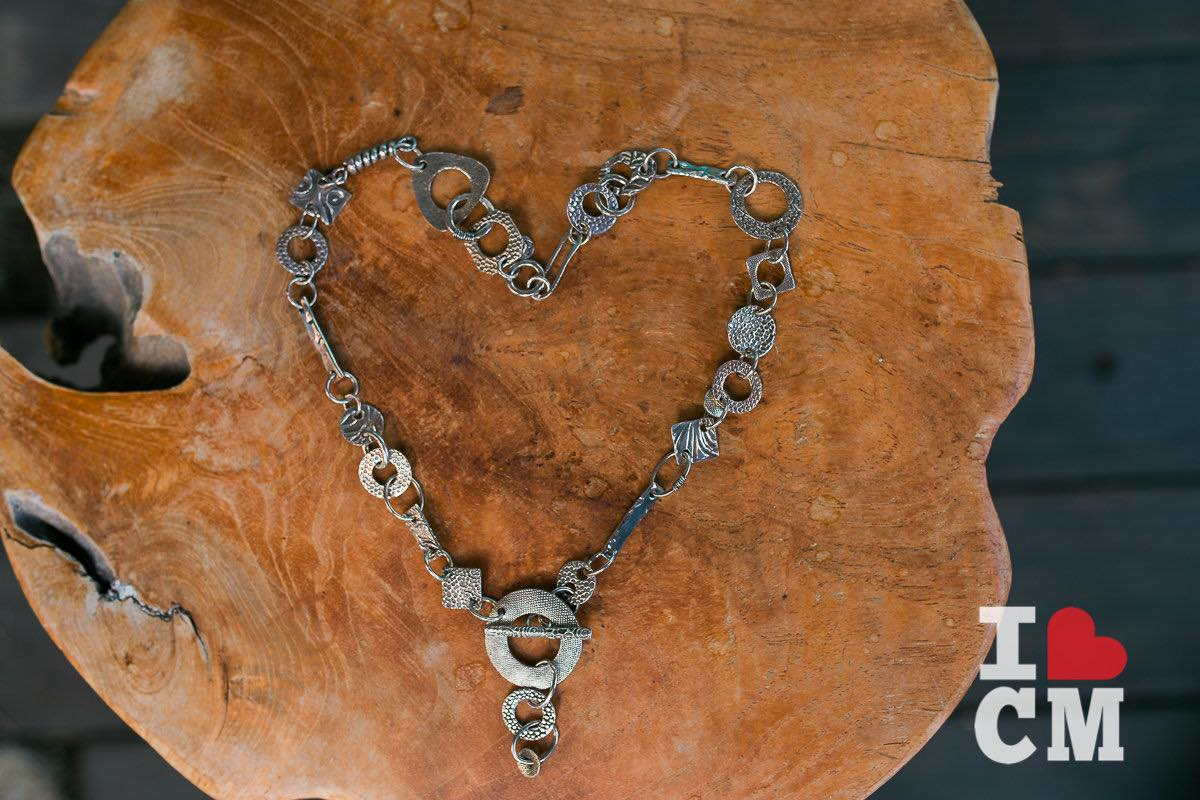 Stunning in Silver: A handmade piece by jewelry-maker Stacey Peterson of The Studio at The Camp in Costa Mesa