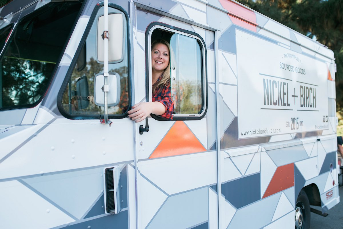Costa-Mesan Nicole Jones Is In The Drivers Seat Of Nickel + Birch Mobile Boutique