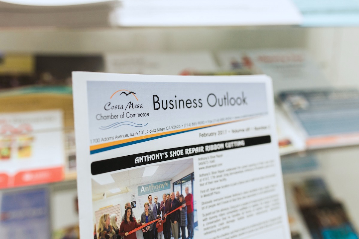 Make News: Costa Mesa Chamber Of Commerce Business Outlook Newsletter