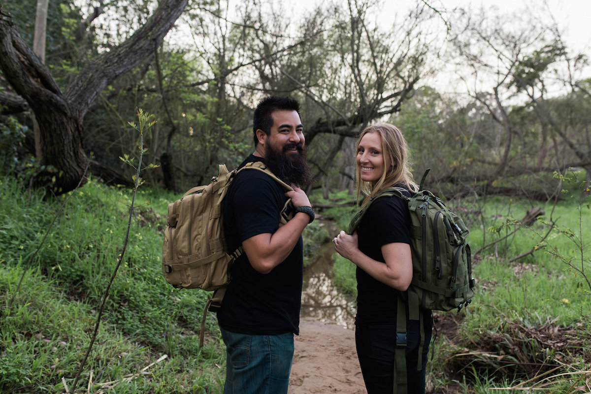 Good For The Soul: Gilbert And Brittnee Gonzalez Believe In The Power Of Getting Outdoors