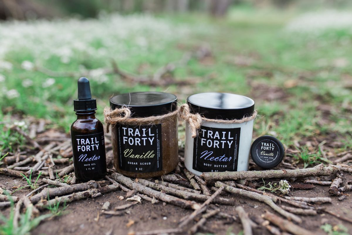 Trail Forty: Hair Oil, Body Scrub, Body Butter, Lip Scrub (Costa Mesa, California)