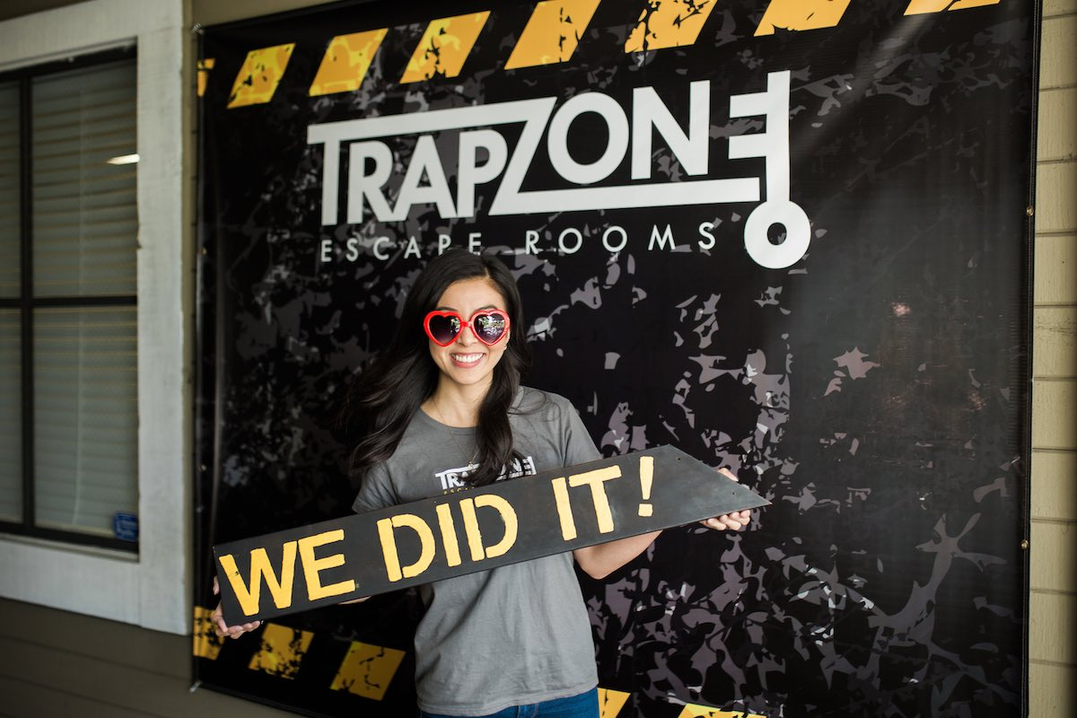"TrapZone Julie Hom: ""We Did It!"" (Costa Mesa, California)"