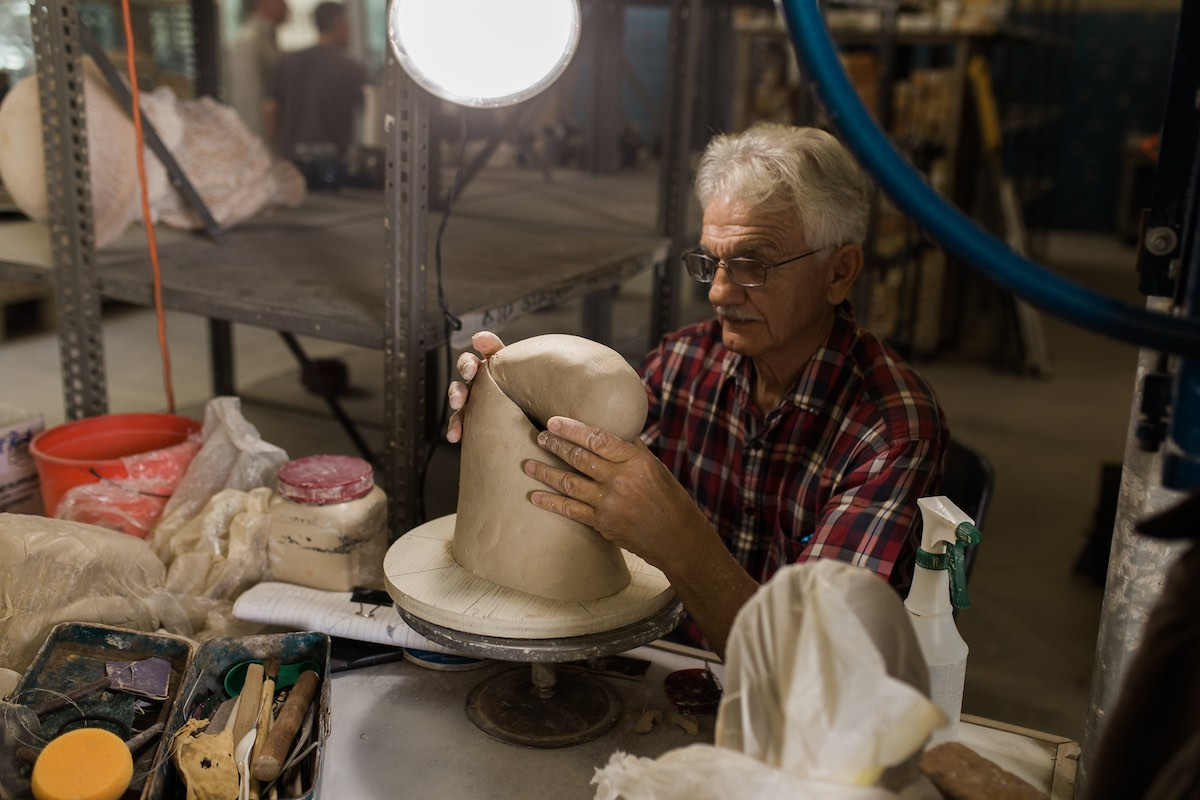 Creativity Unfolds in the OCC Ceramics Studio in Costa Mesa, CA