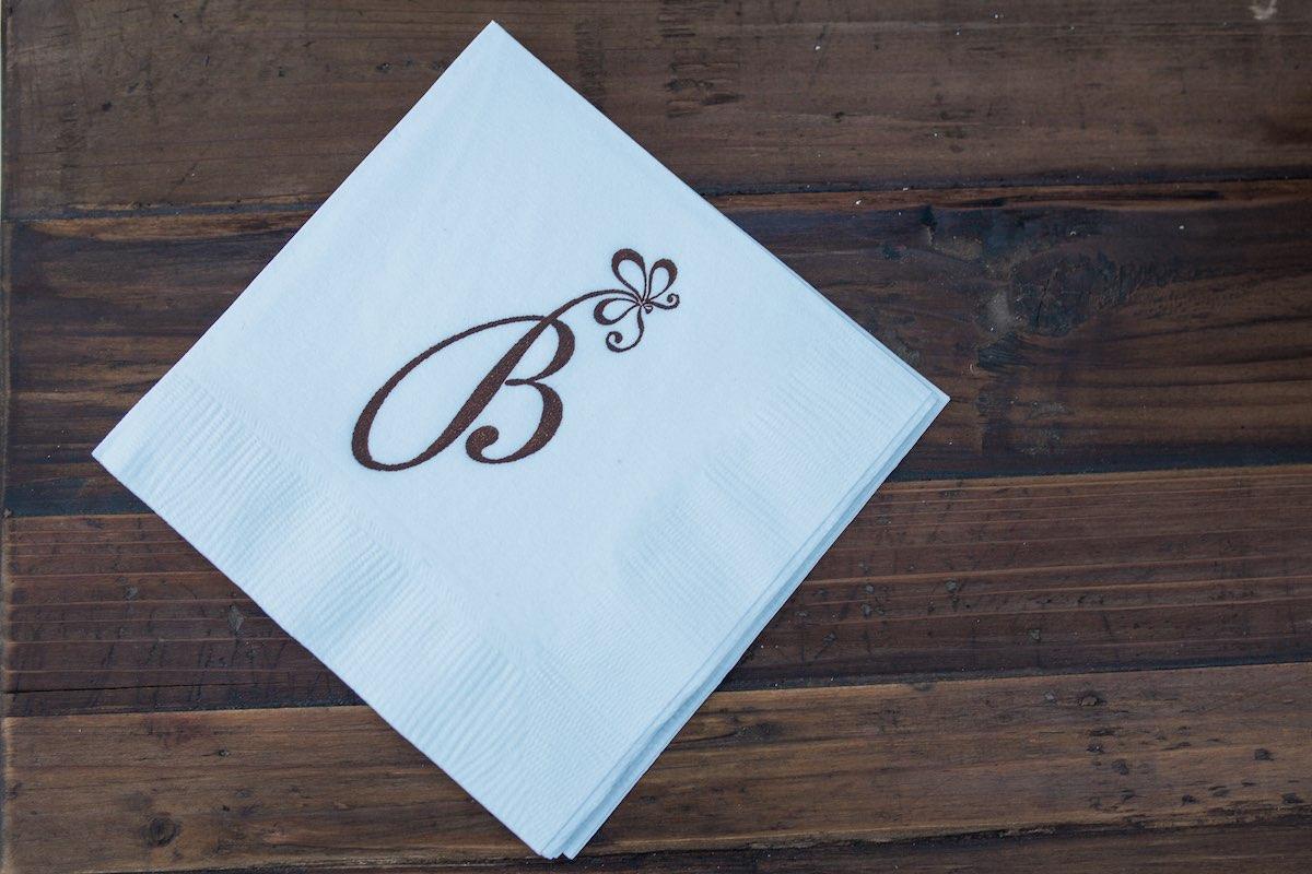 "Baker Bar Nap: The Iconic ""B"" Logo of Baker Party Rentals, Costa Mesa California"