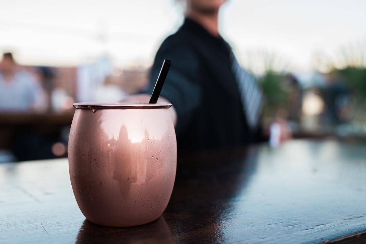 Baker Party Rentals: Copper Mug Moscow Mule (Costa Mesa, CA)