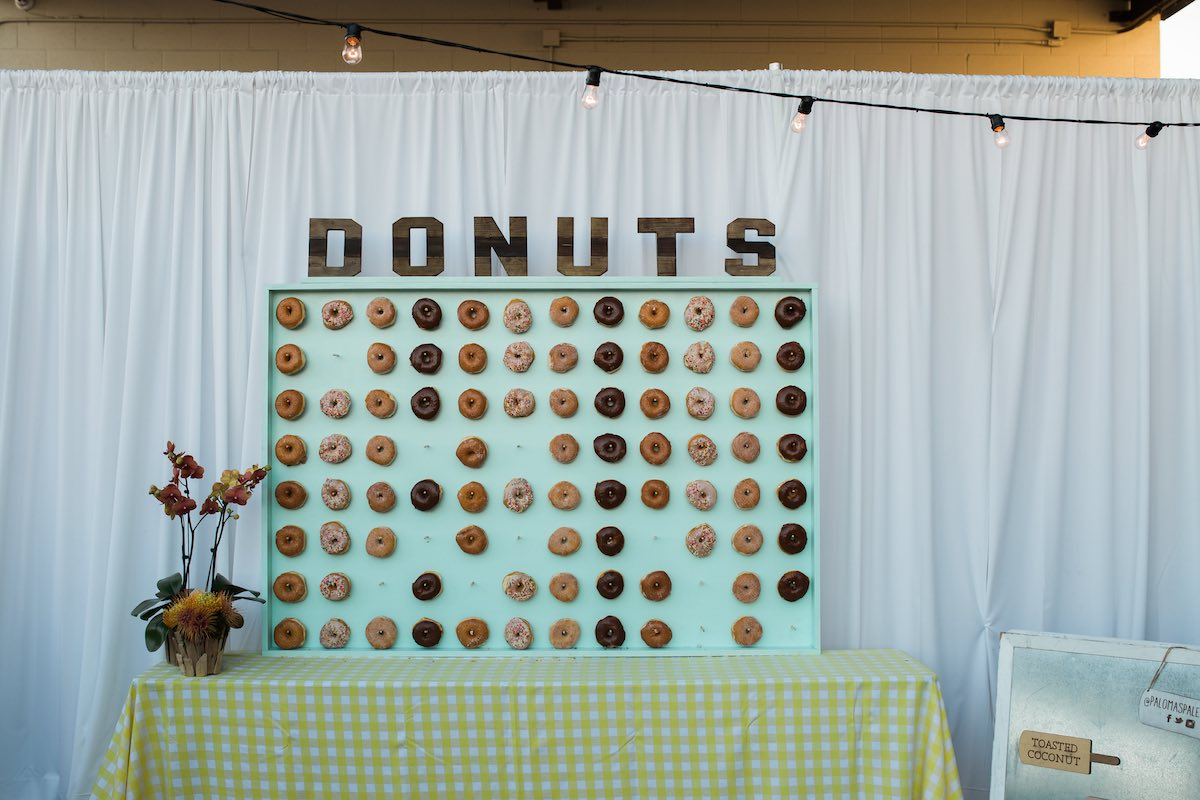 From Party Staples To The Unexpected: Rent This Donut Wall from Baker Party Rentals (Costa Mesa, CA)
