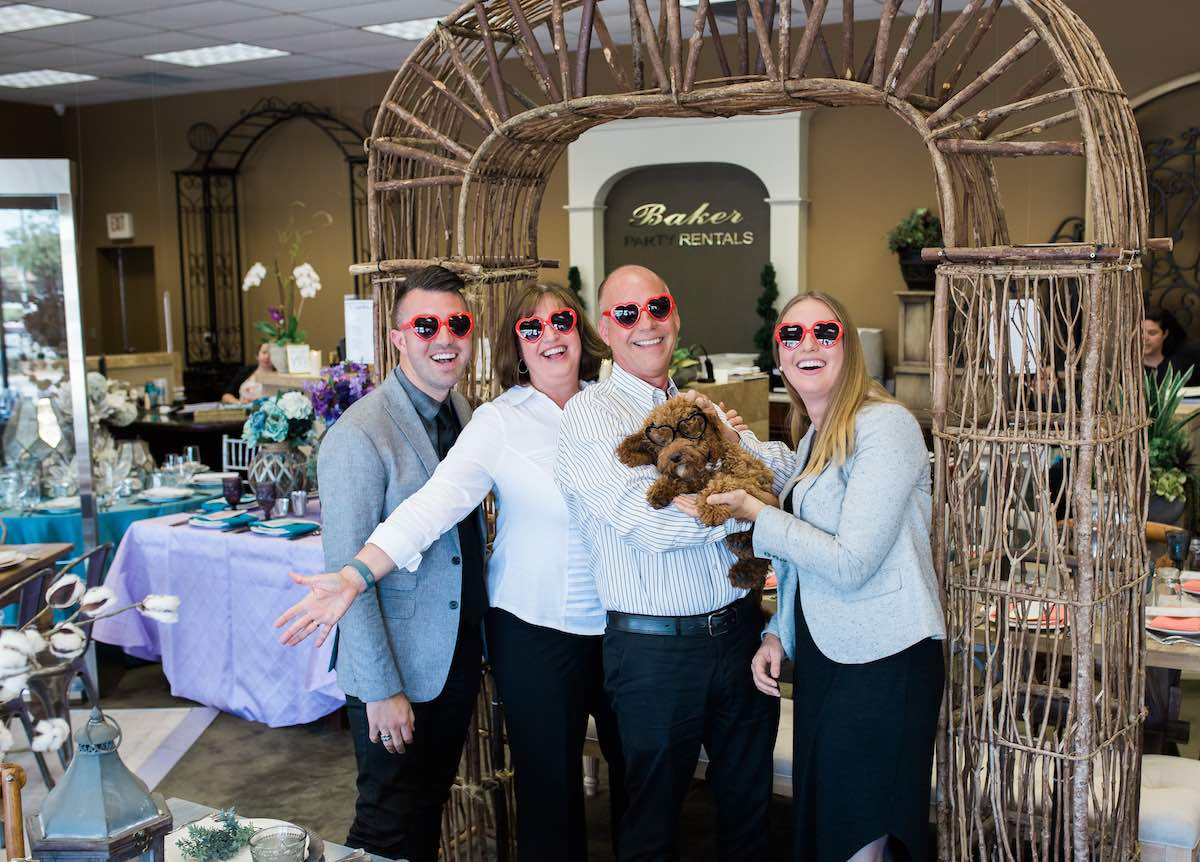 The Mantyla Family of Baker Party Rentals, hearting Costa Mesa, California!