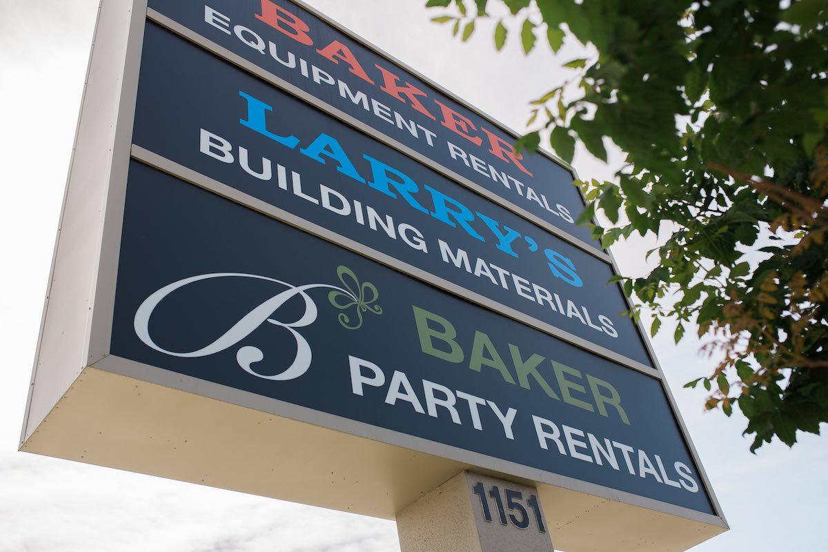 Baker Party Rentals: 1151 Baker Street in Costa Mesa, California, 92626