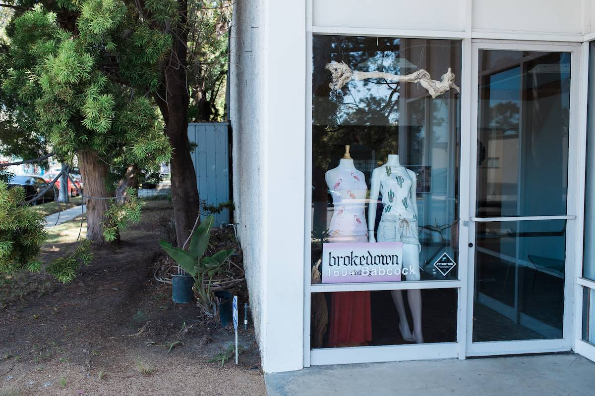 Brokedown Clothing At 1604 Babcock Street In Westside Costa Mesa