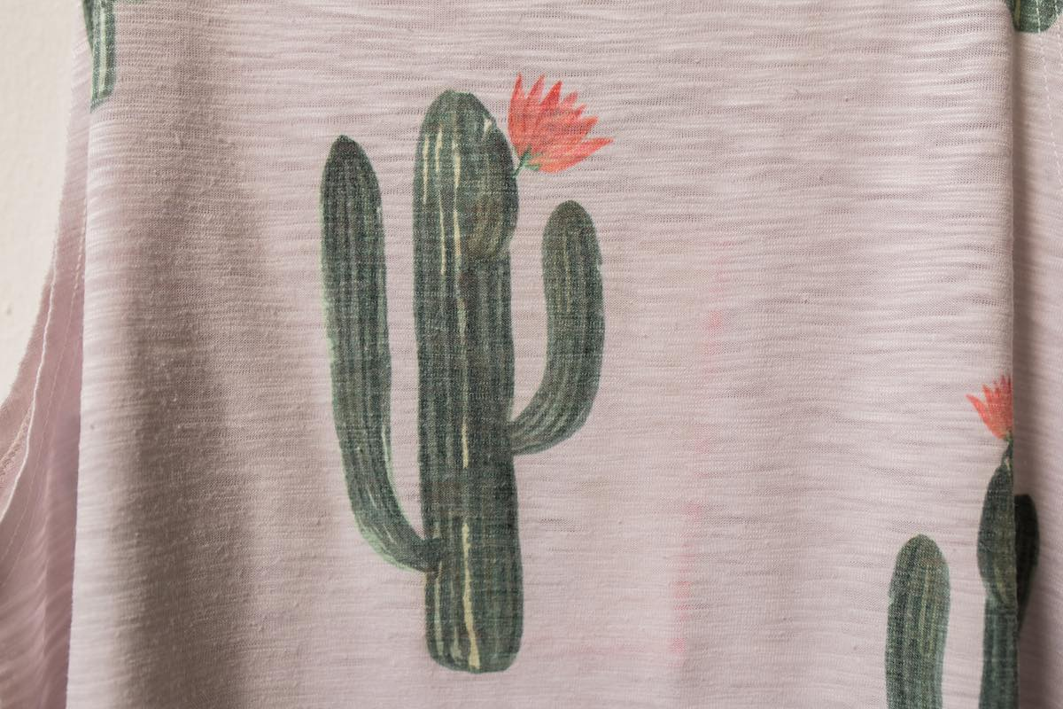 Blooming Cactus: Delicate Details at Brokedown Clothing Costa Mesa