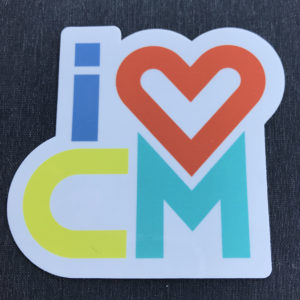 Stickers, Decals, Costa Mesa, Goathill, Teal, Yellow, Blue, Salmon