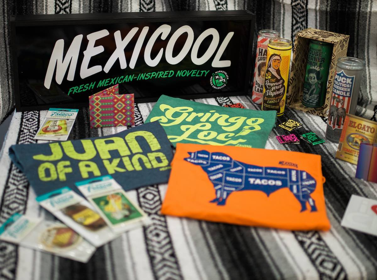 Funny Business: Humorous, Bi-Cultural Tee Shirts, Veladoras, Paper Wallets, Air Fresheners and More by Mexicool
