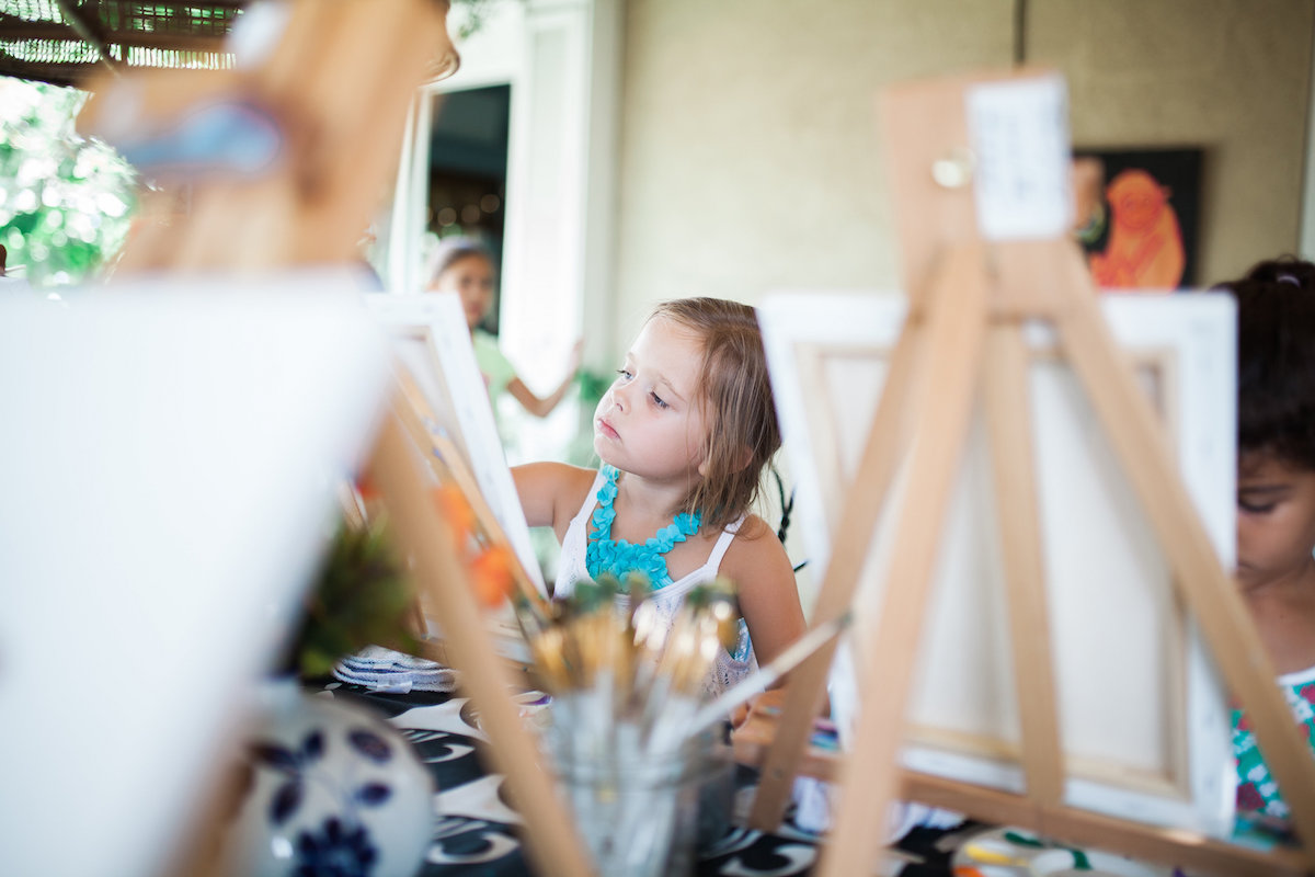Paint and Play are the Hallmarks of Camp Lila in Mesa del Mar, Costa Mesa
