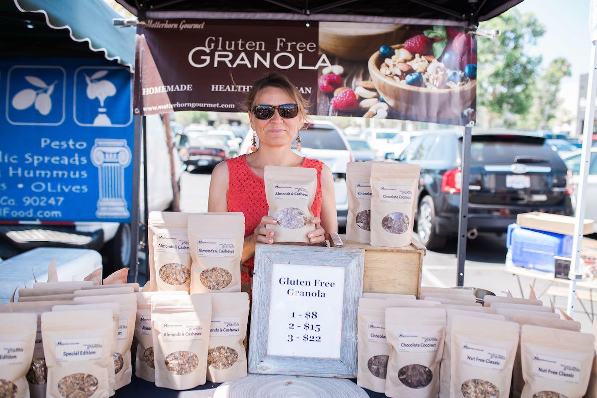 Salubrious Snacks: Gluten-Free, Low-Sugar Granolas from Matterhorn Gourmet at SOCO Farmers' Market, Costa Mesa