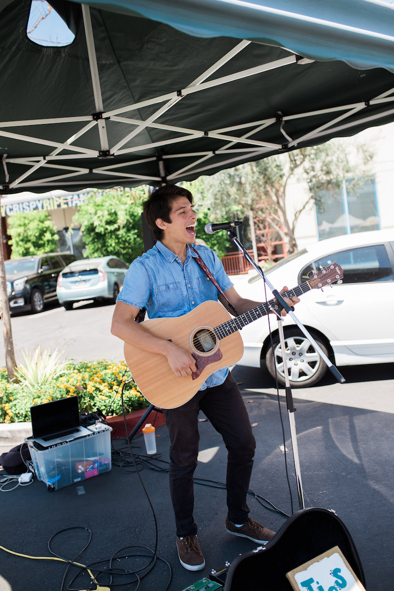 Live Music at Saturday SOCO Farmers' Market at South Coast Collection In Costa Mesa, California