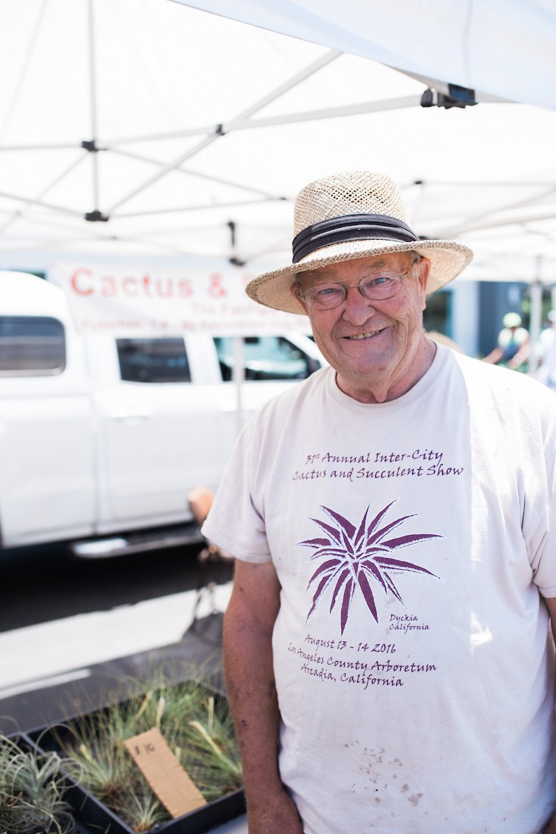 "Crazy For Caudiciforms: The Fat Plant Man Brings ""Fat Plants"" Of Every Shape And Size to SOCO Farmers' Market, Saturdays in Costa Mesa"