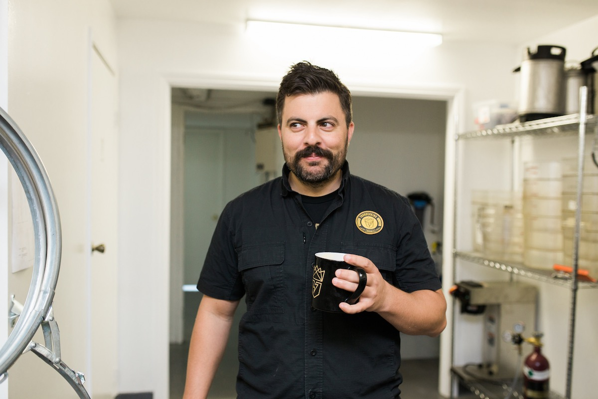 Coffee Talk: Brian Kazarian of Thunderking Brewing, Costa Mesa California
