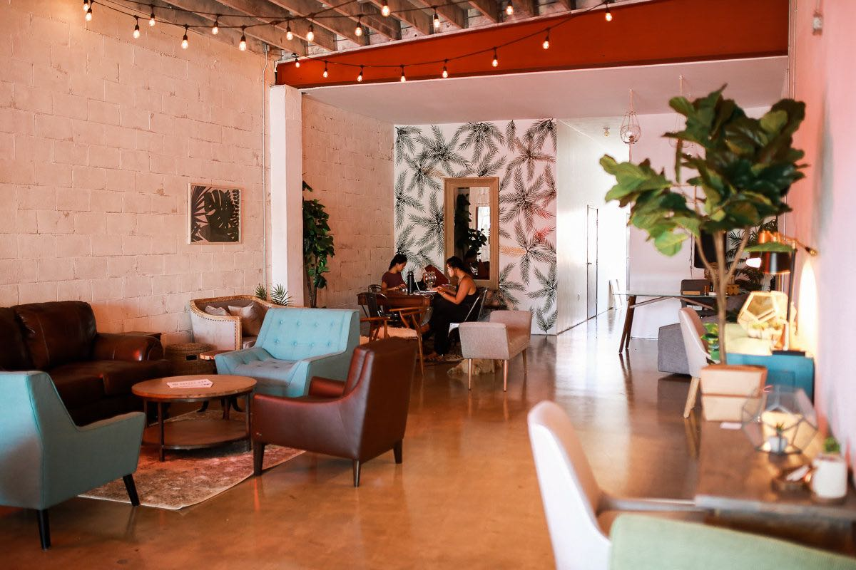 Gallery and Co-Working Space: Second Home at SOCIAL Costa Mesa and Thunderking Coffee Bar