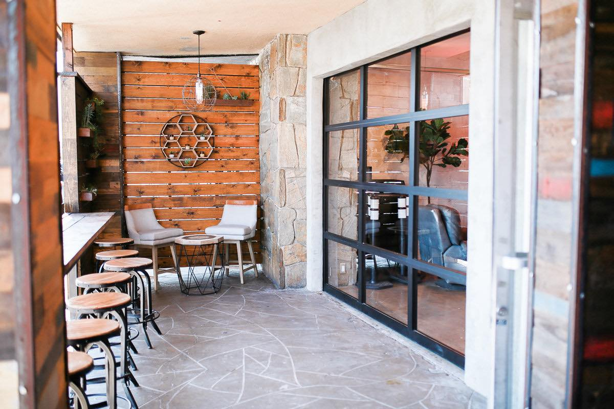 Patio Play: Sit, Sip and Soak Up Some Rays In The Second Home Lounge Adjacent to Thunderking Coffee Bar