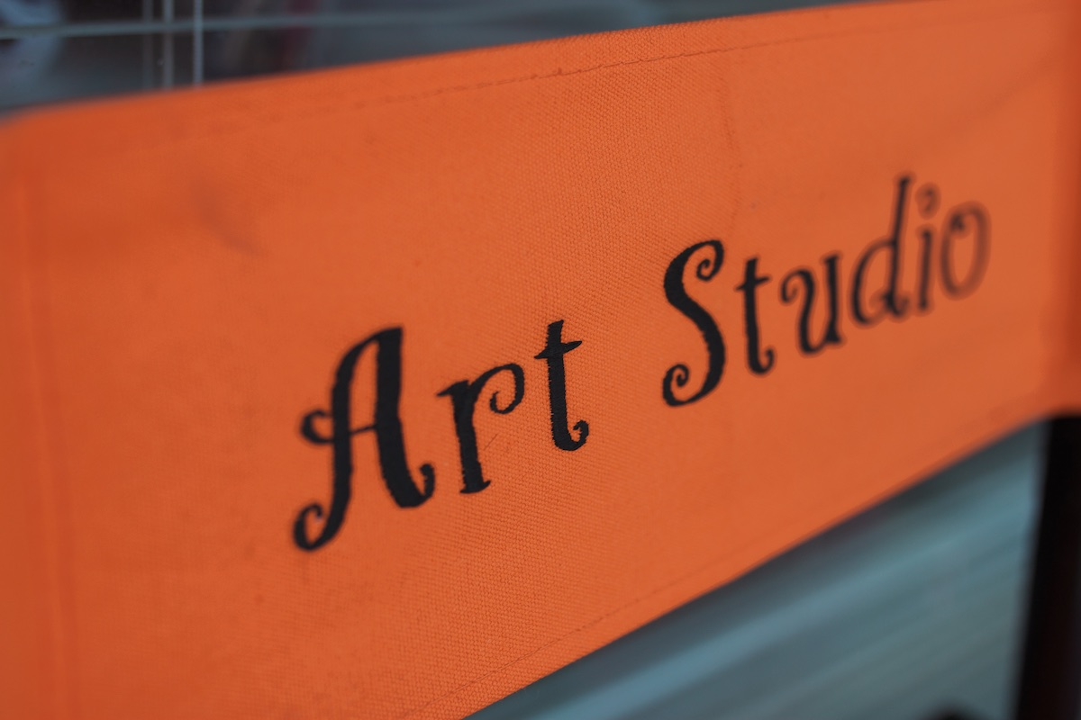 New Co-op Studio, Art Gallery and Event Center at Lisa Albert Art Studio in Eastside Costa Mesa, California