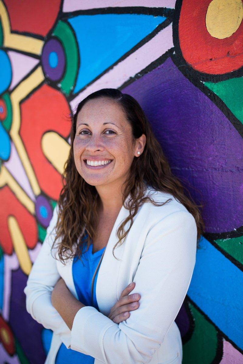 Costa Mesan, Andrea Marr, of the Costa Mesa Cultural Arts Committee