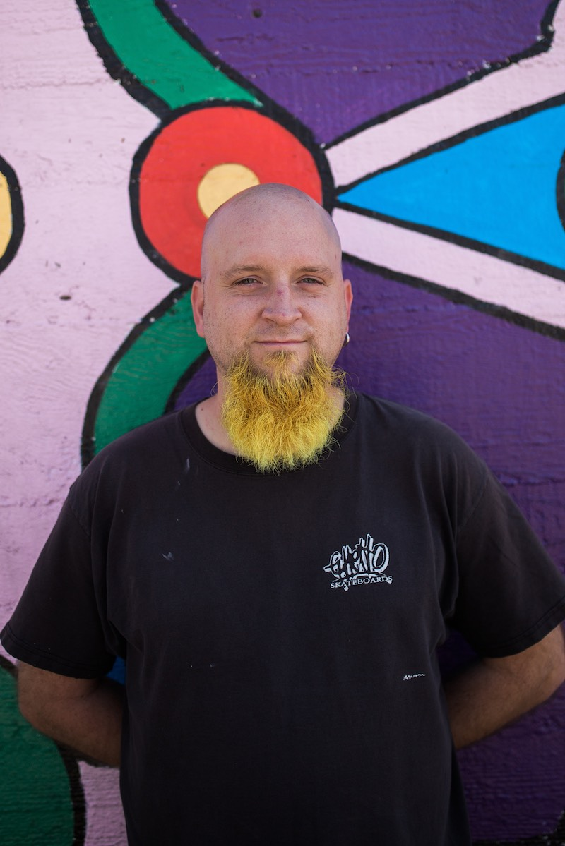 Costa Mesan, Rocky Evans, of the Costa Mesa Cultural Arts Committee