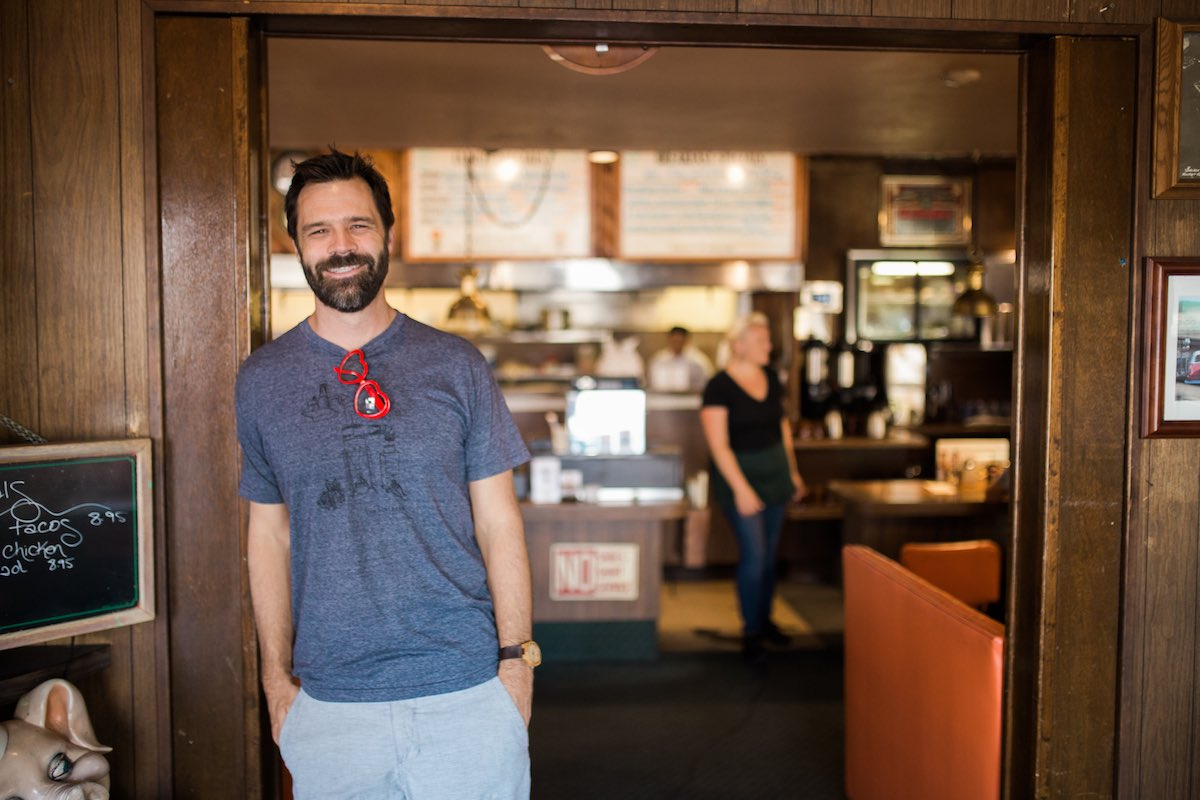The Next Chapter For Church's: New Owner, Bodie Rasmussen, at Dick Church's Restaurant in Eastside Costa Mesa