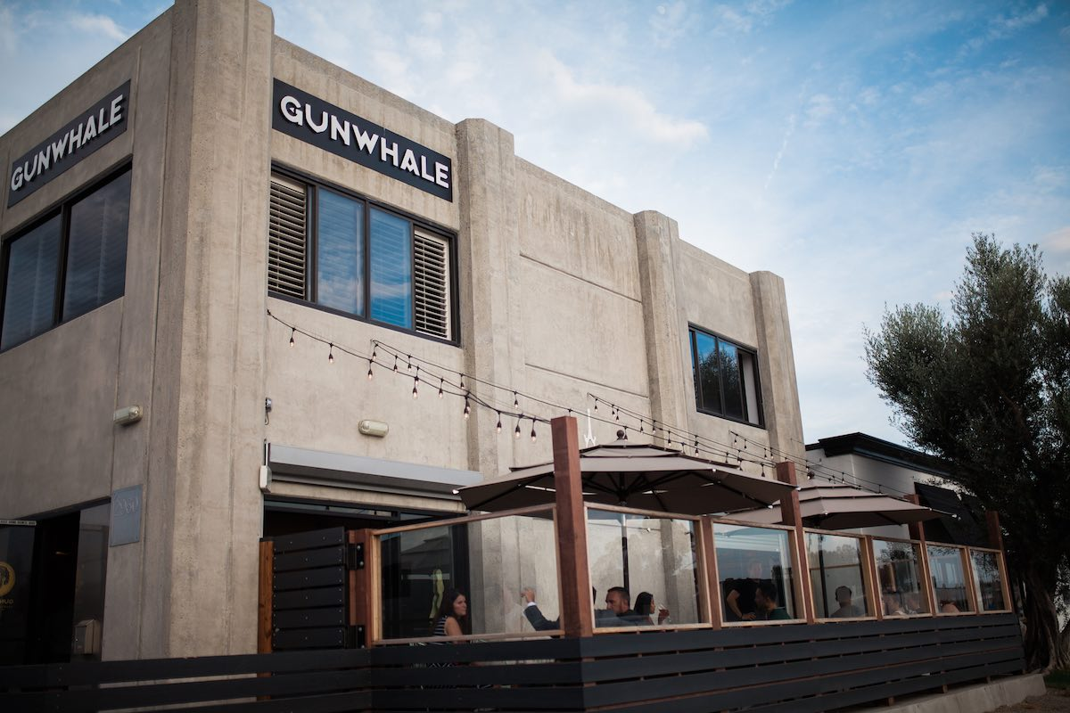 Gunwhale Ales Taproom and Brewery, Home to Left Coast Sports Bocce Ball League in Costa Mesa, California