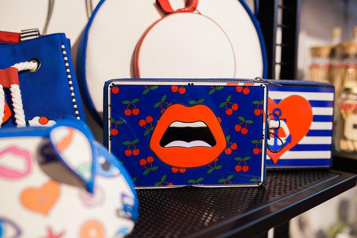 I Heart Costa Mesa: Kiss / lips purse at Anthill Fashion Market in Eastside Costa Mesa, California. (photo: Brandy Young)