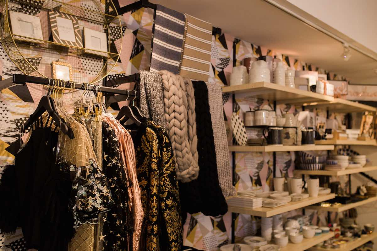 I Heart Costa Mesa: Luxurious scarves and apparel at Anthill Fashion Market in Costa Mesa, California. (photo: Brandy Young)
