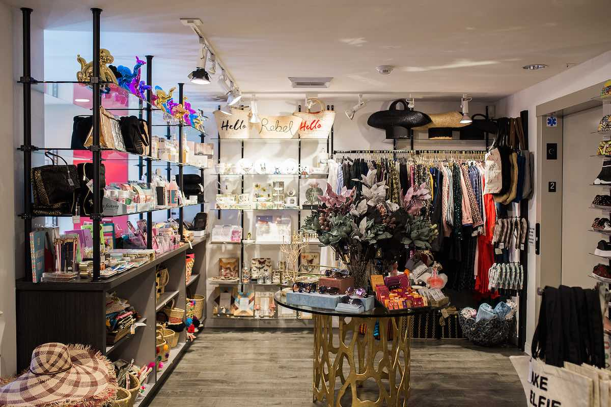 I Heart Costa Mesa: Step on up to the second floor boutique at Anthill Fashion Market in Costa Mesa, California. (photo: Brandy Young)