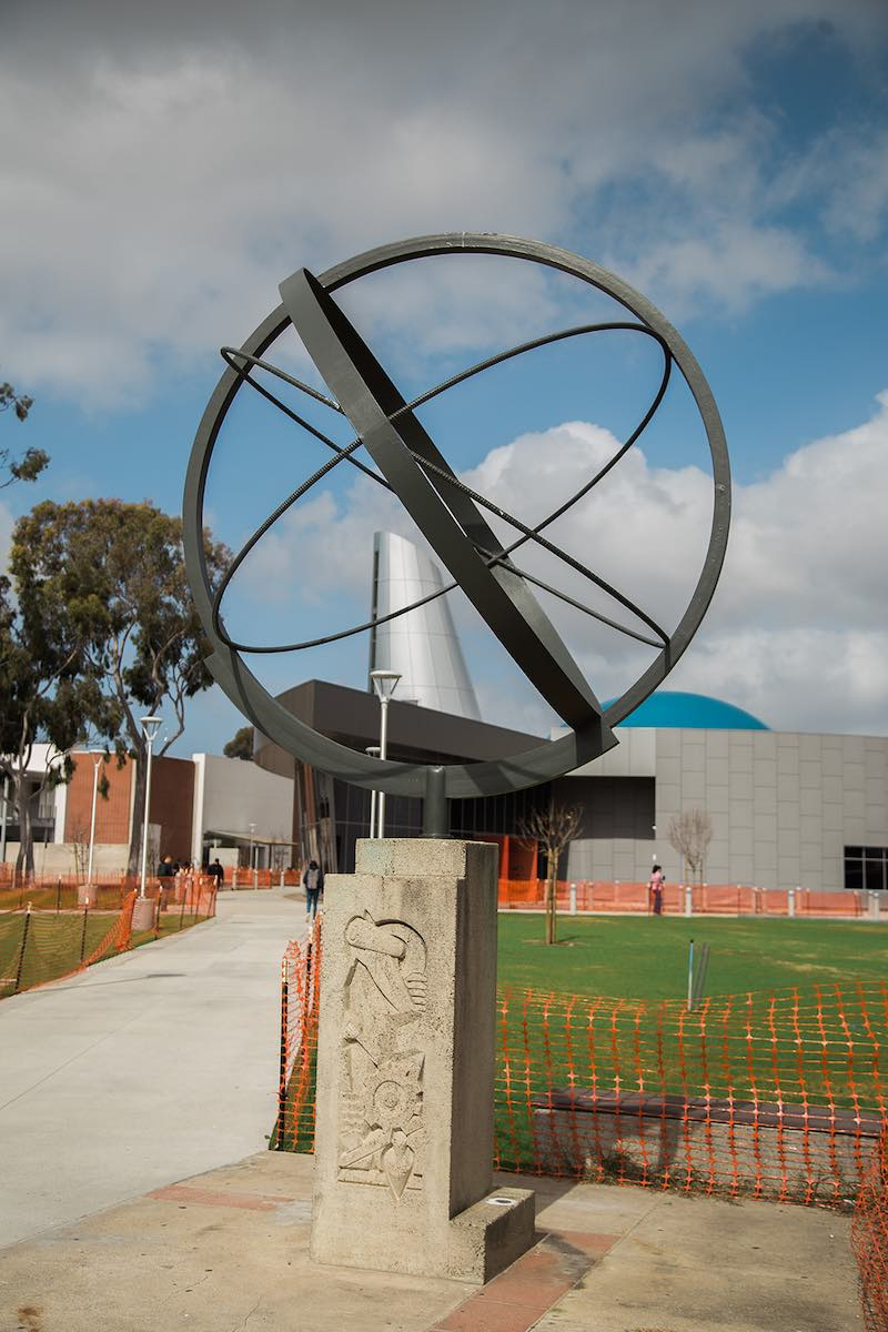 The New Community Planetarium at Orange Coast College in Costa Mesa, Orange County, California. (photo: Brandy Young)