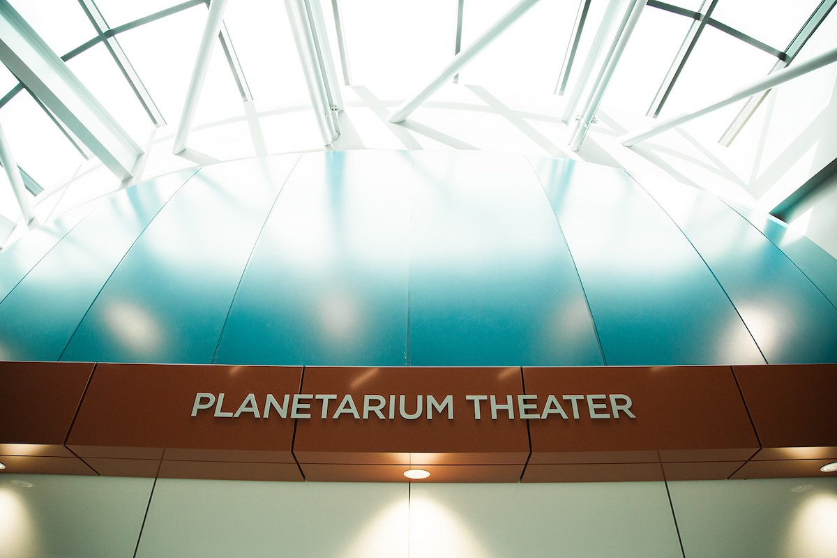 Planetarium Theater at Orange Coast College in Costa Mesa, Orange County, California. (photo: Brandy Young)